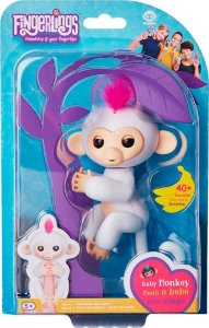 FINGERLINGS - MACAQUINHO BRANCO BABY MONKEY - CANDIDE