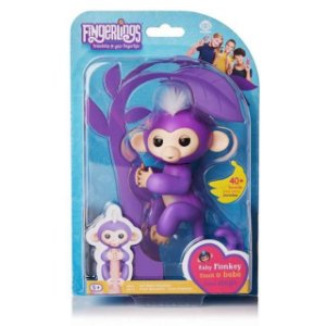 FINGERLINGS - MACAQUINHO ROXO BABY MONKEY - CANDIDE