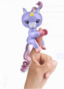 FINGERLINGS - UNICÓRNIO ROXO - CANDIDE