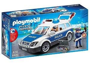 PLAYMOBIL - VIATURA POLICIAL COM GUARDA - 6920