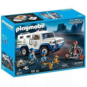 Playmobil - Carro Forte Da Polícia Blindado