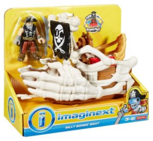 IMAGINEXT - BARCO DO BILLY BONES - DHH64 - FISHER PRICE