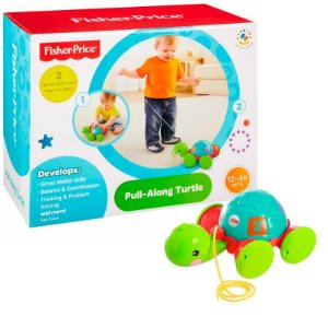 EMPURRA TARTARUGA - Y8652 - FISHER PRICE