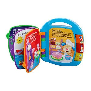 LIVRINHO DE RIMAS - CDH62 - FISHER PRICE