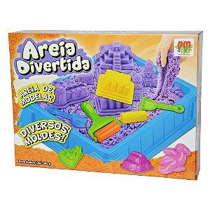 AREIA DIVERTIDA 900g - DM TOYS