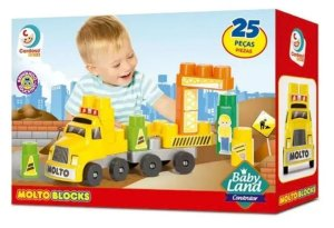MOLTO BLOCKS - BABY LAND CONSTRUTOR - 8008 - MOLTO BLOCKS