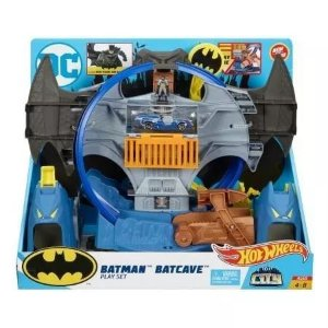Pista Hot Wheels - Batcaverna Do Batman - Mattel