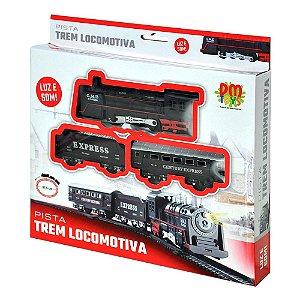 PISTA TREM LOCOMOTIVA - DM TOYS