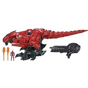 T-Rex Zord de Batalha - Ranger Vermelho - Power Rangers - SUNNY