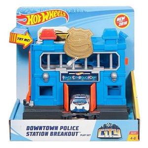 Hot Wheels - Delegacia de Polícia - Mattel