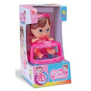 Boneca Andador - Little Dolls - Divertoys