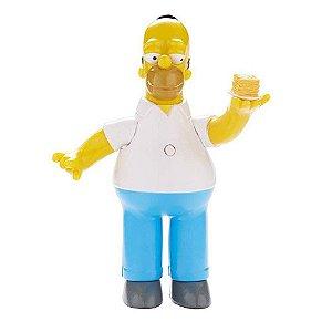 Boneco Homer Simpson 15cm com som - Os Simpsons - Multikids