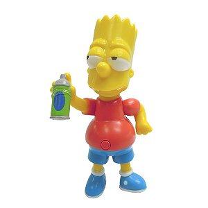 Boneco Bart Simpson 15cm com som - Os Simpsons - Multikids