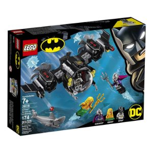 LEGO Super Heroes - DC Comics - O Batsubmarino de Batman e o Confronto Subaquatico