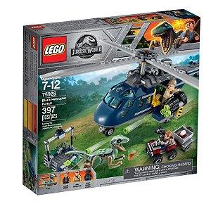 LEGO Jurassic World - Perseguição Helicóptero de Blue