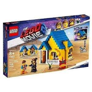 LEGO Movie - O Filme 2 - 2 em 1 - Casa dos Sonhos do Emmet