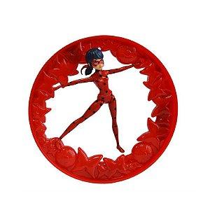 Boneca Miraculous com Acessórios - Ladybug Giratória com Roda - Sunny