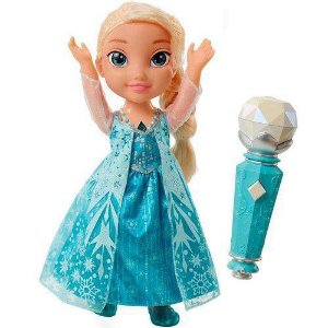 Boneca Frozen Elsa Canta Comigo - Sunny