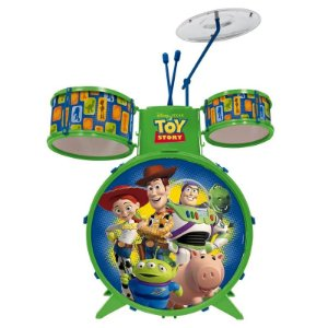 Bateria Musical Infantil - Disney - Toy Story - Toyng