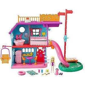 FCH21 Polly Pocket - Casa De Férias Da Polly