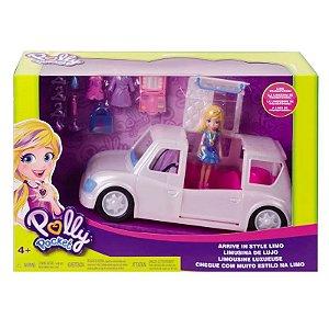 GDM19 - Veículo e Boneca - Polly Pocket - Limosine de Luxo - Mattel