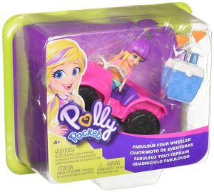 GDM13 Polly Pocket! Quadriciclo Fabuloso Mattel