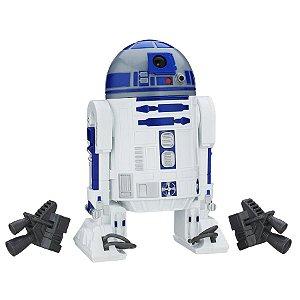 "BONECO STAR WARS FIGURA 12"" R2 - D2 B7691 - HASBRO"