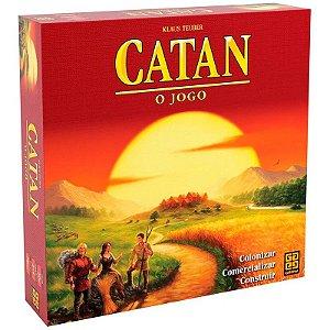 Jogo Colonizadores de Catan - Grow