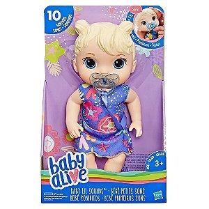 Boneca Baby Alive Primeiros Sons - Loira - Hasbro