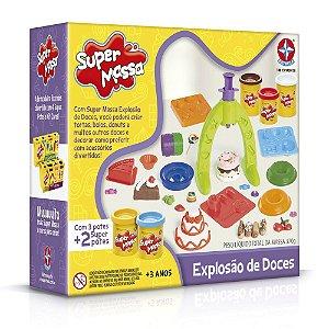 Jogo Massinha - Super Massa - Explosão de Doces - Estrela