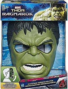 Máscara Hulk com Expressão - Thor Ragnarok - Hasbro