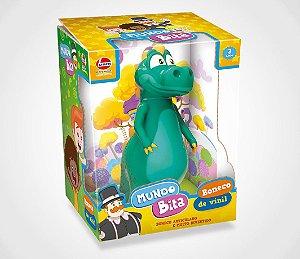 Boneco de Vinil Dinossauro - O Mundo de Bita