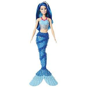 Barbie Sereia Azul - Dreamtopia - Mattel