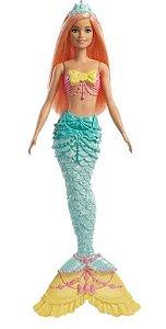 Barbie Sereia Verde - Dreamtopia - Mattel