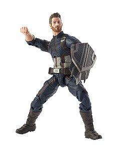 Marvel Legends - Capitão América - Vingadores Guerra Infinita