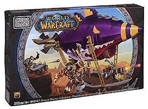 World of Warcraft - Emboscada Zeppelin Goblin - Mega Bloks