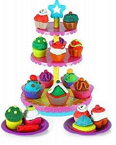 Fábrica de Cupcakes - Massinha de Modelar - Xplast