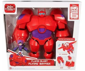 Big Hero Baymax Chama Voadora Com Hiro 1979 Sunny