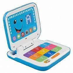 Laptop Azul Aprender e Brincar - Fisher-Price