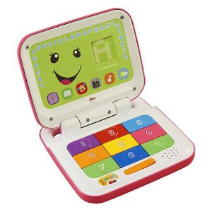 Laptop Rosa Aprender e Brincar - Fisher-Price