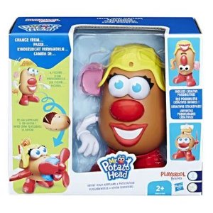 Figura 20 Cm - Mr. Potato Head - Nas Alturas - Mrs. Potato Avião - Hasbro