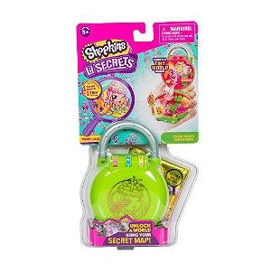 Boneca Surpresa com Acessórios - Shopkins - Lil Secrets - Cadeado - DTC 5089