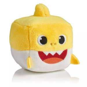 Pelúcia Musical Baby Shark - Baby Cubo Amarelo - Toyng 39258