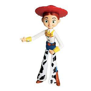 Boneco de Vinil - 18 Cm - Disney - Pixar - Toy Story - Jessie - Líder