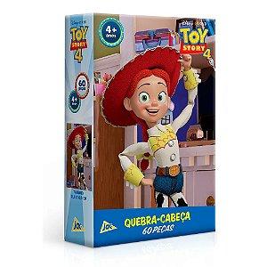 2628 - Quebra-Cabeça Toy Story 4 Jessie 60 Peças Toyster