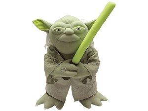 Boneco Mestre Yoda Star Wars Reconhecimento de Voz - Candide
