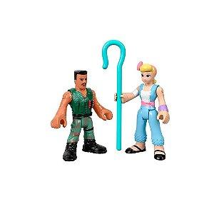 Toy Story 4 Imaginext Bo Peep e Combate Carl - Mattel