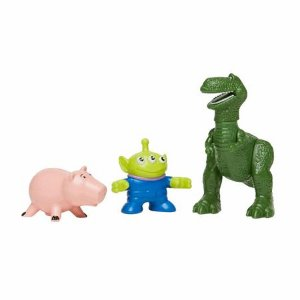 Toy Story Imaginext Rex, Porquinho e Alien - Mattel