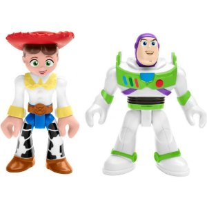 Toy Story Imaginext Buzz Lightyear e Jessie - Mattel