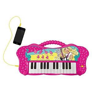 80071 Barbie Teclado Fabuloso com Função MP3 - Fun